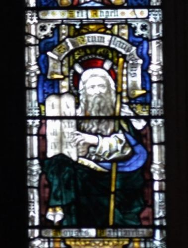 From the Te Deum window of Paisley Abbey