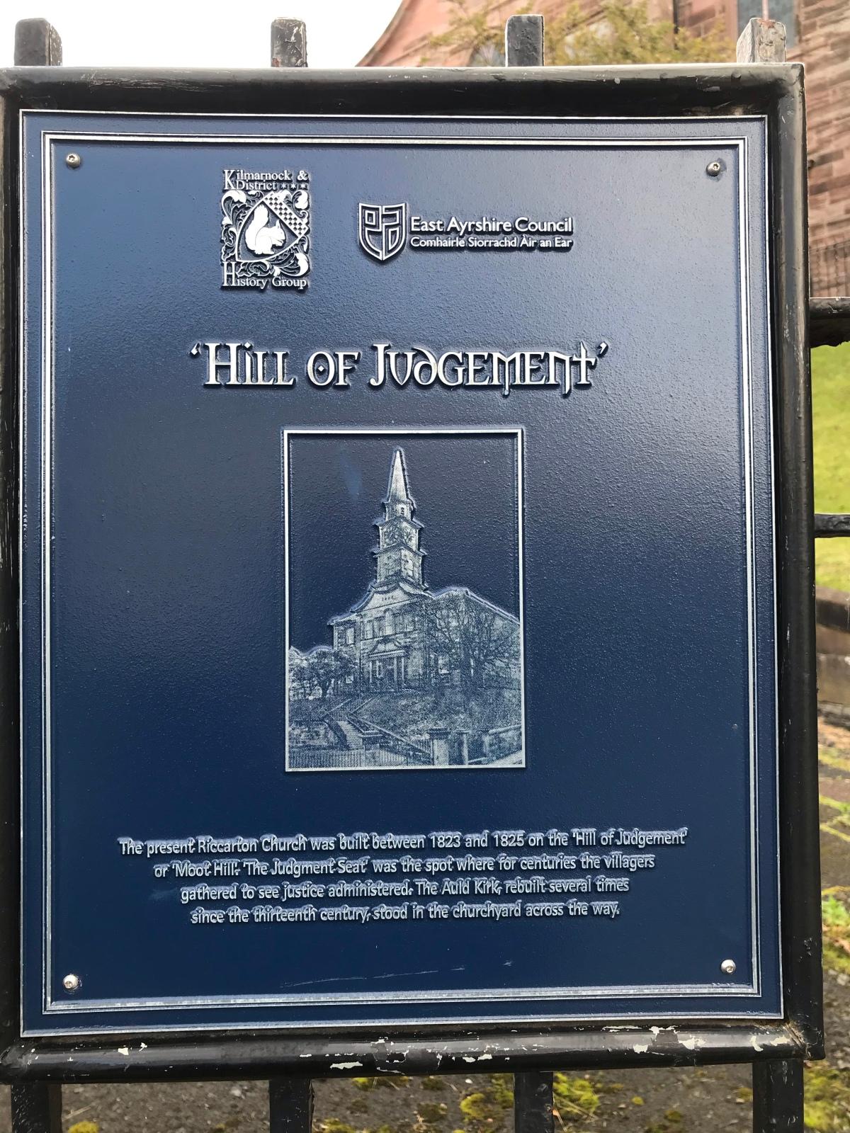 The Hill ofJudgement